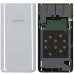 Genuine Samsung A80 (SM-A805) Battery Cover In Silver - Part no : GH82-20055B