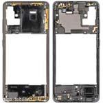 Genuine Samsung Galaxy A51 Main Frame Black Part No: GH98-45033B