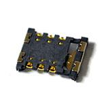 Genuine Samsung SM-J100H Galaxy J1 Black Duos CONNECTOR-CARD E 13038- Samsung part no: 3709-001799