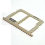 Genuine Samsung J730F Sim/SD Card Tray in Gold - Part no: GH64-06280C