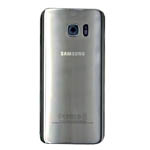 Genuine Samsung SM-G935F Galaxy S7 Edge Battery Cover in Silver-Samsung part no: GH82-11346B