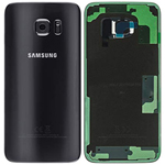 Genuine Samsung SM-G935F Galaxy S7 Edge Battery Cover in Black-Samsung part no: GH82-11346A