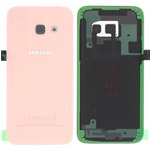 Genuine Samsung SM-A320F Galaxy A3 (2017) - Battery Cover + NFC Antenna In Rose - Part no : GH82-13636D