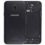 Genuine Samsung SM-J330 Galaxy J3 (2017) Battery Cover In Black - Part no: GH82-14890A
