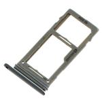 Genuine Samsung S9+Plus (G965) SIM Card Tray in Titanium Grey - Part no: GH98-42576C