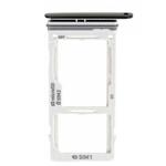 Genuine Samsung S9 (G960F) Sim/SD Card holder in black - Part no: GH98-42650A