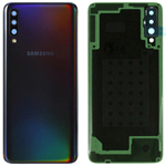 Genuine Samsung Galaxy A70 SM-A705 Battery Cover In Black - Part no: GH82-19467A