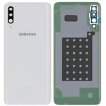 Genuine Samsung Galaxy A70 SM-A705 Battery Cover In White - Part no: GH82-19467B