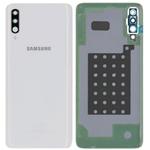 Genuine Samsung Galaxy A70 SM-A705 Battery Cover In White - Part no: GH82-19467B