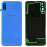 Genuine Samsung Galaxy A70 SM-A705 Battery Cover In Blue - Part no: GH82-19467C