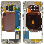 Genuine Samsung Galaxy S6 Edge plus (G928F) Middle Cover/Chassis in Gold - Part no: GH96-09079A