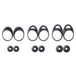 Genuine Samsung Gear IconX SM-R140 Black Ear Wing Rubber Tip Pack - Part no: GH98-42497A / GH98-43282A