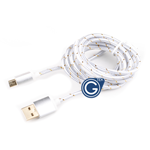 Braided Micro USB Charging/Data Cable 1.5M in Silver