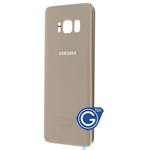 Samsung Galaxy S8 G950F Battery Cover Gold