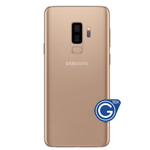 Samsung Galaxy S9 G960F Battery Cover Gold