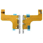 Sony D6503 Xperia Z2 Charging Connector Flex-Cable Magnetic Charge - Sony part no: 1276-9738