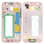 Genuine Samsung Galaxy A5 2017 A520 Pink Chassis / Middle Cover - Part no: GH96-10623D