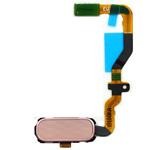 Genuine Samsung SM-G930F Galaxy S7 Home Key Flex Pink -Samsung part no: GH96-09789E
