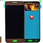 Genuine Samsung Galaxy E5.E500.E500f, E500h lcd and touchpad in Brown - P/N:GH97-17114B
