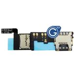 Samsung GALAXY Note 4 N910F Sim Card With Memory Card Flex