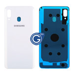 Samsung Galaxy A30 SM-A305F Battery Cover in White
