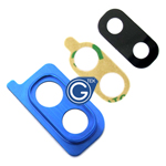 Samsung Galaxy A30 SM-A305F Camera Cover with Lens in Blue