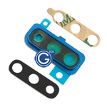 Samsung Galaxy A50 SM-A505F Camera Cover with Lens in Blue