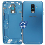 Samsung Galaxy A6+ (2018) A605F Rear Housing with side buttons in Blue