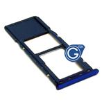 Samsung Galaxy A7 (2018) SM-A750F Sim Holder in Blue