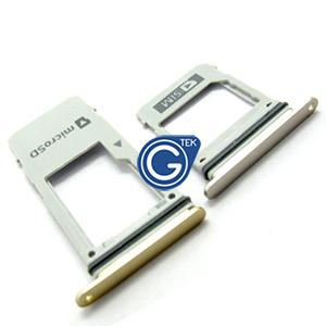 Samsung Galaxy A8 (2018) SM-A530F SIM and MicroSD Card Holder in Gold