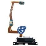 Samsung Galaxy Alpha G850F Home Button with Flex in Black