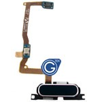 Samsung Galaxy Alpha G850F Home Button with Flex in Blue