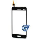Samsung Galaxy Core 2 G355H Digitzer in Black (with DUOS Logo)