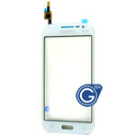 Samsung Galaxy Core Prime SM-G361F Digitizer touchpanel in white With Duos logo