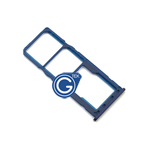 Samsung Galaxy M20 SM-M205F Sim Holder in Blue