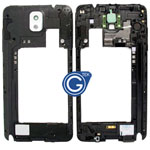 Samsung Galaxy Note 3 LTE (N9005) Rear Chassis with Loudspeaker Uinit and Camera Lens White