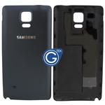 Samsung Galaxy Note 4 N910F Battey Cover in Black