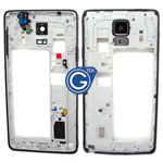 Samsung Galaxy Note 4 N910F Rear Chassis with Loudspeaker,Earphone Flex and Side Button in Black