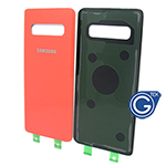 Samsung Galaxy S10 SM-G973F Battery Cover in Orange