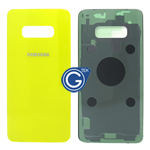 Samsung Galaxy S10e SM-G970F Battery Cover in Yellow