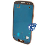 Samsung Galaxy S3 i9300 LCD Frame with Side Button in Gold
