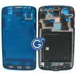 Samsung Galaxy S4 Active i9295 LCD Frame with Power and Volume Flex in Blue