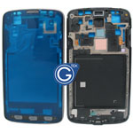 Samsung Galaxy S4 Active i9295 LCD Frame with Power and Volume Flex in Grey