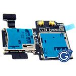 Samsung Galaxy S4 i9500 Sim card with memory card flex