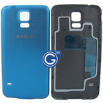 Samsung Galaxy S5 G900F Battery Cover in Blue