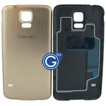 Samsung Galaxy S5 G900F Battery Cover in Gold