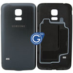 Samsung Galaxy S5 Mini G800F Battery Cover in Black