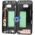Samsung Galaxy S8 SM-G950F LCD Frame in Black