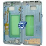 Samsung Galaxy S8 SM-G950F LCD Frame in Blue
