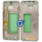 Samsung Galaxy S8 SM-G950F LCD Frame in Pink